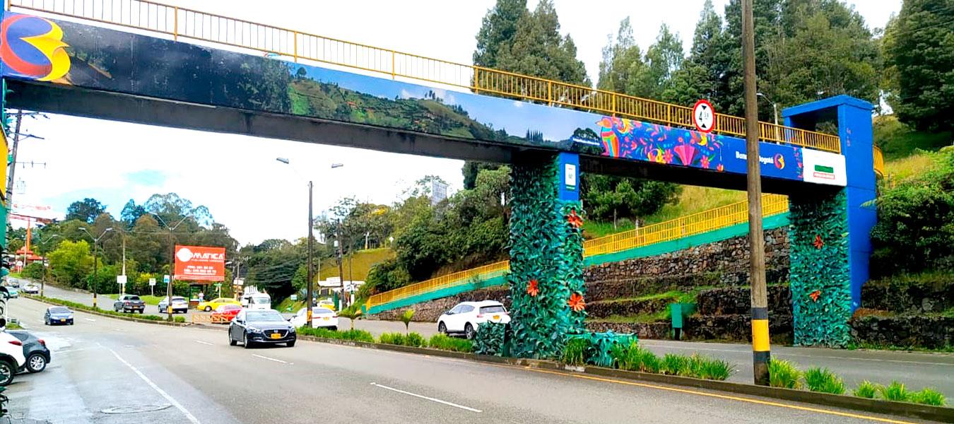 renovación puente peatonal antioquia